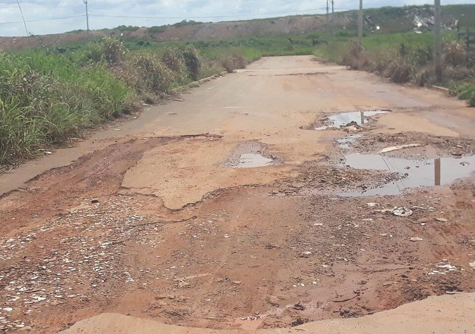 Lem: Falta de manutenção prejudica ruas do Parque São José