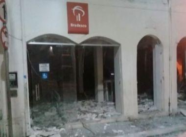 Maragogipe: Mais um ataque a banco no interior da Bahia
