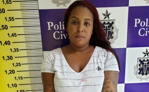 Lauro de Freitas: Polícia prendeu uma das líderes do tráfico de drogas de Feira de Santana