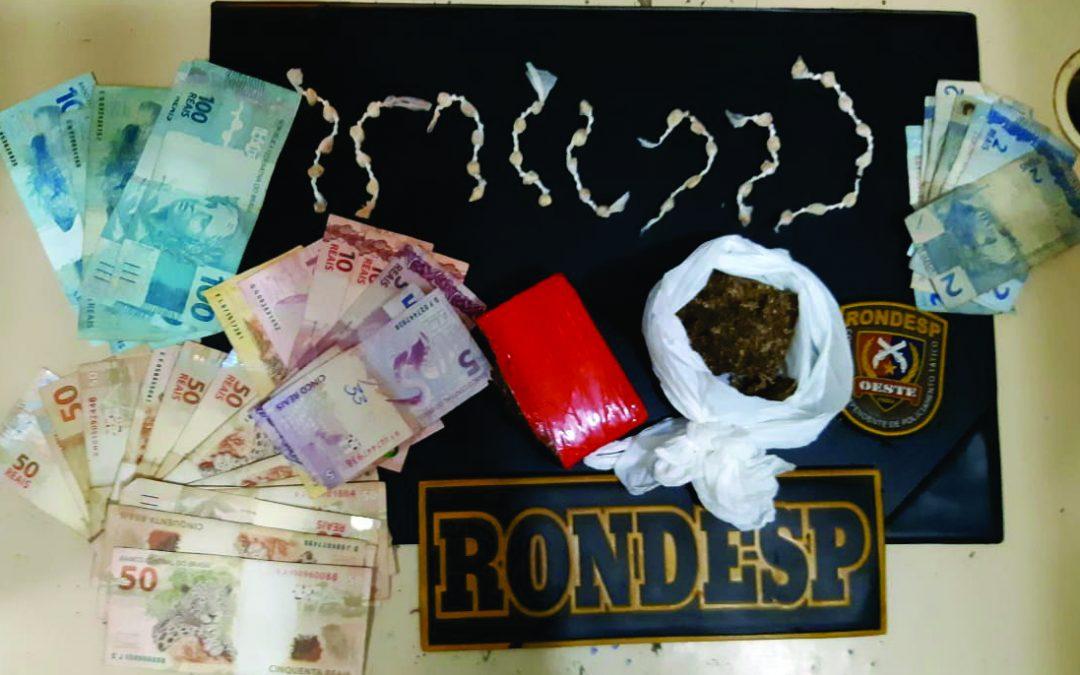LEM: Polícia prendeu acusados de tráfico de drogas