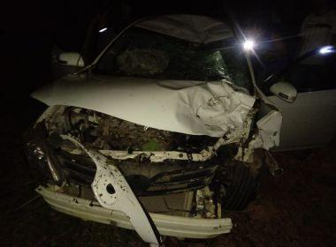 Nova Canaã: Tio e sobrinho morrem em batida de moto com carro na BA-262