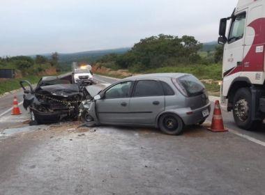 Jaguaquara: Acidente com mortes na BR-116