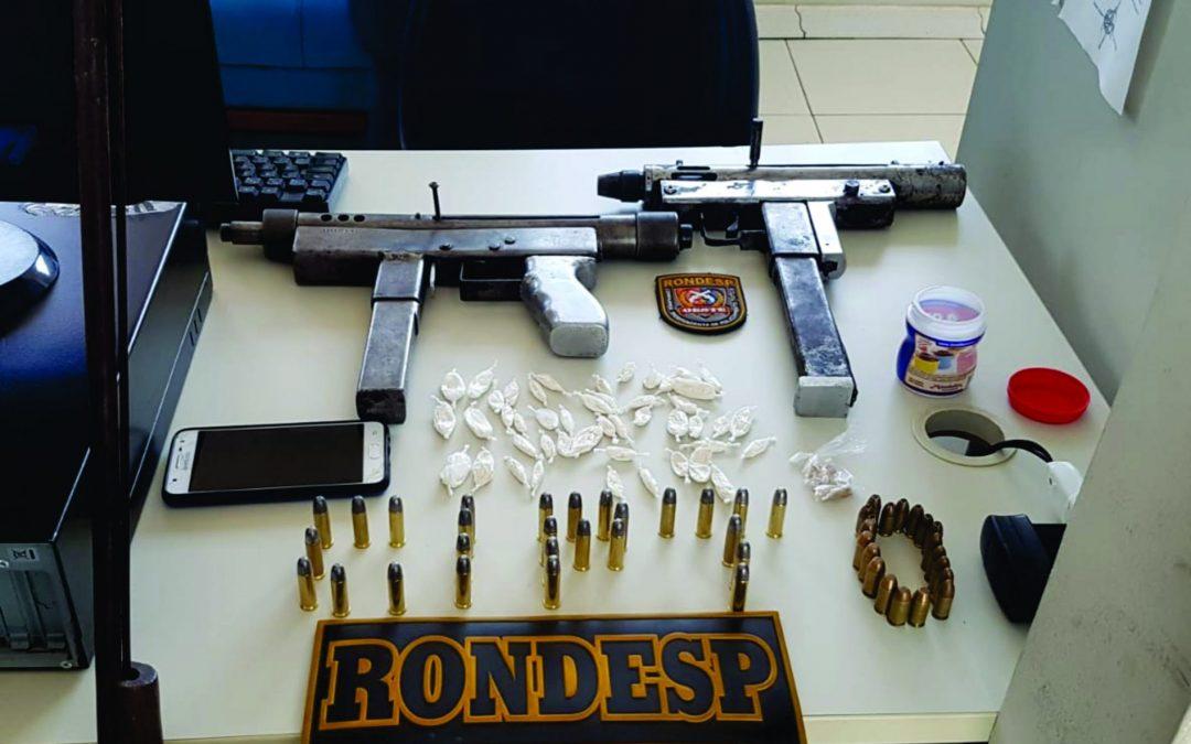 Serra do Ramalho, Bahia:Tráfico de Entorpecentes e Porte Ilegal de Arma de Fogo