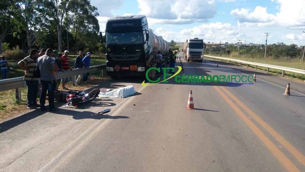 LEM: Homem morre em colisão frontal na BR-020