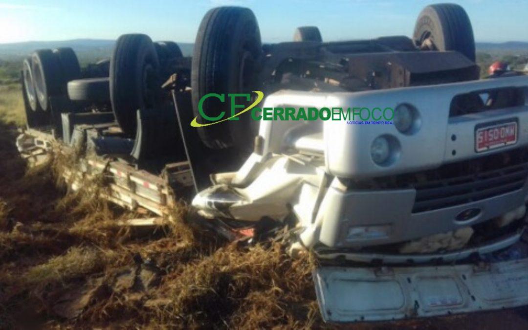 Brumado: Condutor morre ao tombar veículo