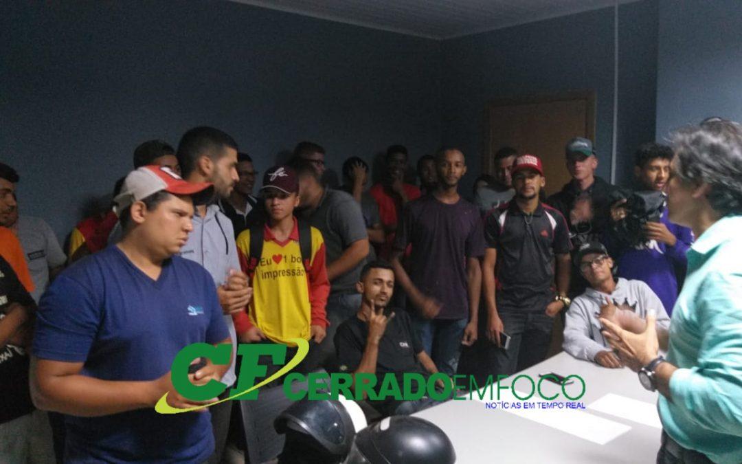 Lem: Secretário de Segurança Publica recebe grupos de jovens com suas reivindicações.