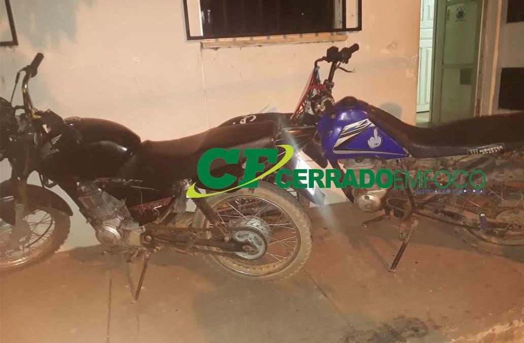Paratinga-BA: 28ª CIPM recupera veículo furtado com dois indivíduos