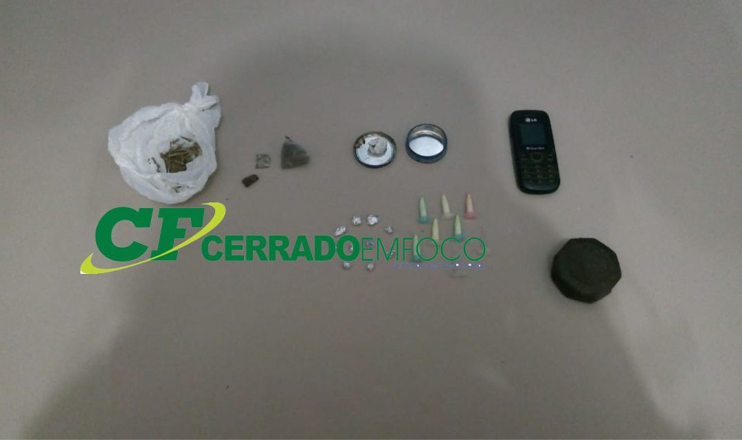 Ibotirama: Indivíduos são presos por tráfico de drogas durante rondas feitas pela CIPM