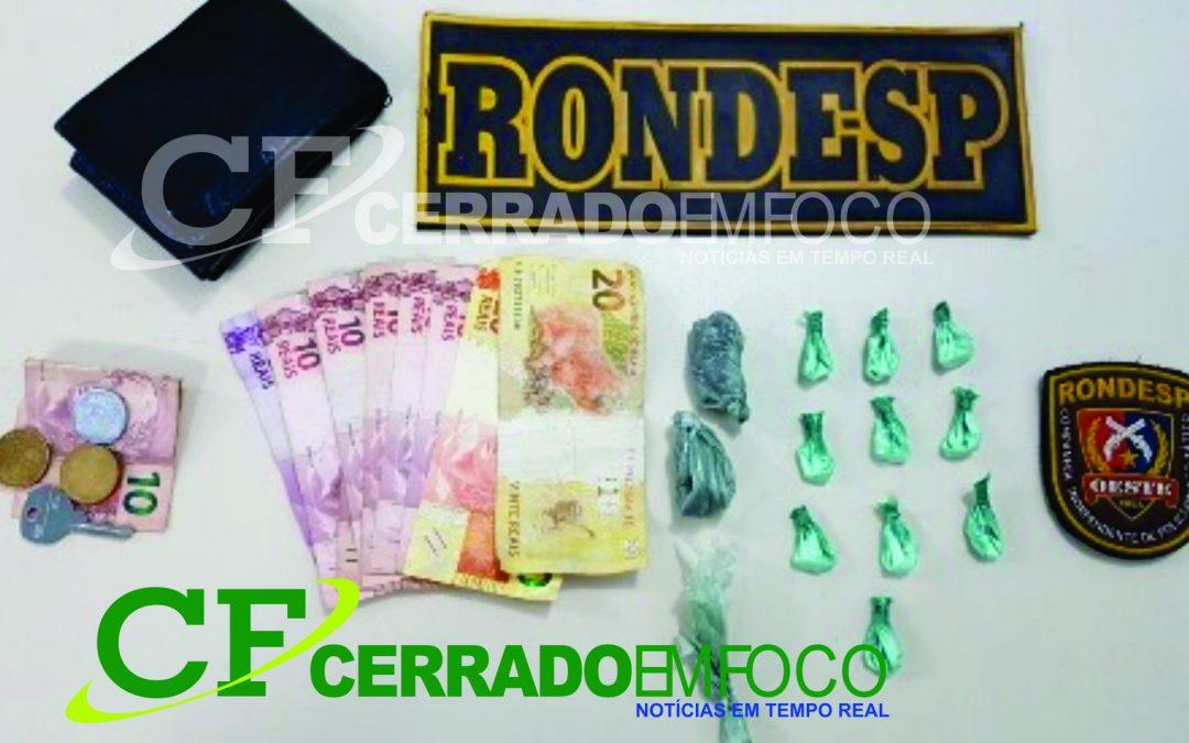 Barreiras: Dois Indivíduos presos em flagrante por tráfico de drogas no Bairro Vila Amorim