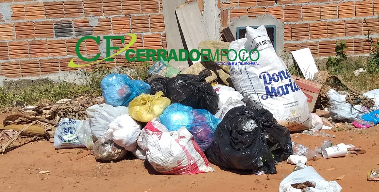 LEM: Lixo causa transtornos nos Bairros Mimoso I e II