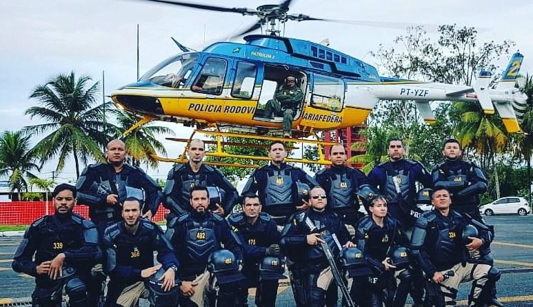 Brasil: Helicóptero Bell 407 da PRF reforça policiamento aéreo durante evento da Copa América 2019