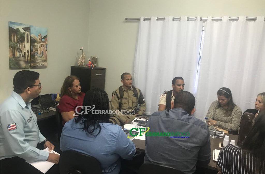 LEM: 85ª CIPM em parceria com as secretarias municipais de educação e segurança e ordem pública iniciam processo de implantação da blitz escolar