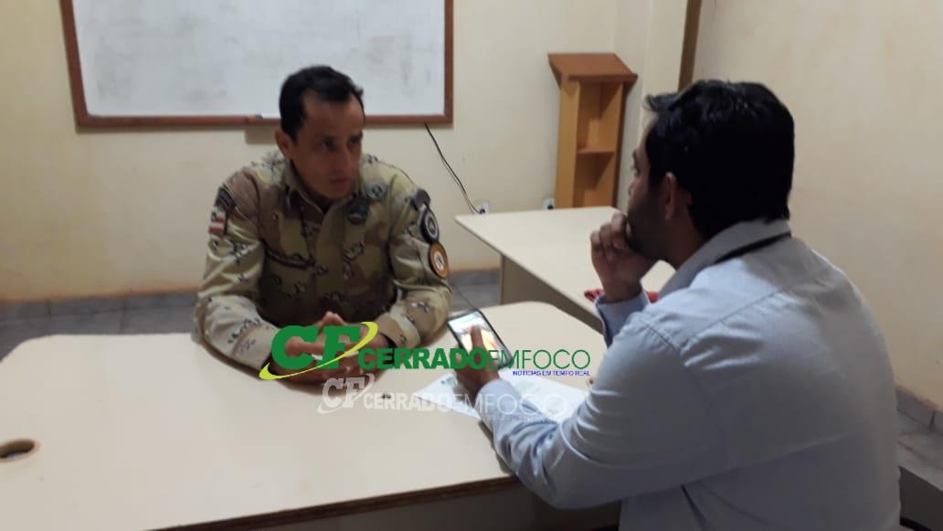LEM: Adê Cerrado faz entrevista exclusiva para a Rádio Cultura FM 104.9 com o subtenente Rosemberg da CIPE/CERRADO sobre a prisão de acusado de latrocínio