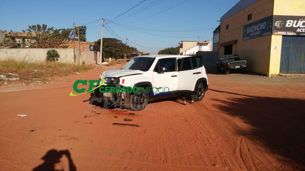 LEM: Colisão em cruzamento das Ruas Senhor do Bonfim com a Rondônia