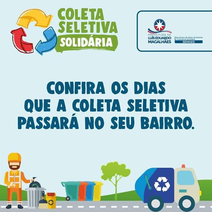 LEM: Coleta seletiva Solidária