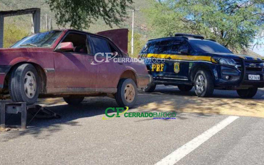 Bahia: Veículo roubado em São Paulo é recuperado pela PRF no sudeste da Bahia