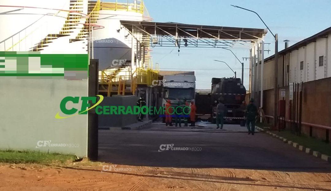 LEM: Carga de óleo diesel explode e deixa vítima com queimaduras