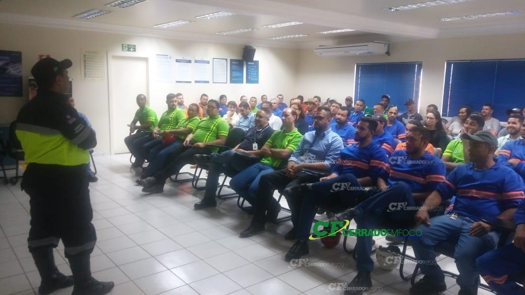 LEM: Agentes de trânsito realizam palestras educativas