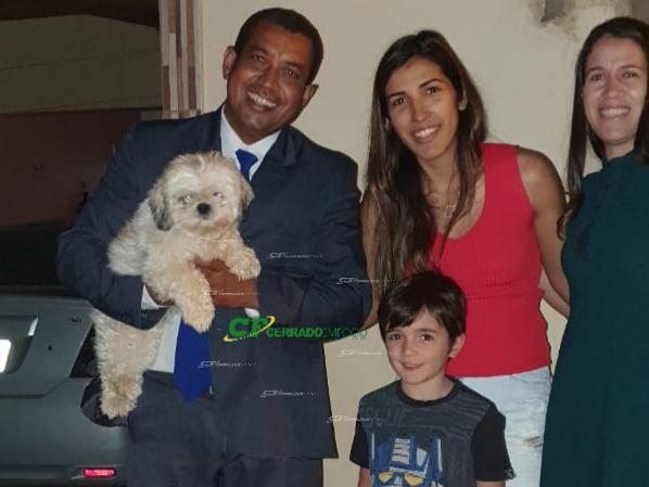 LEM: Cachorrinha encontrada é entregue para sua dona.