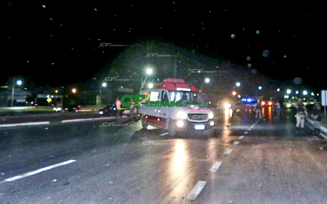 LEM: Acidente na BR-020 ceifa vida de motociclista e deixa garupa ferido