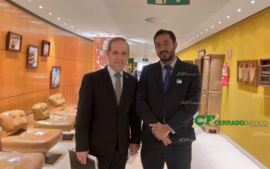 Brasília (DF): Deputado Federal General Pertenelli do PSL de São Paulo concede entrevista a Adê Cerrado