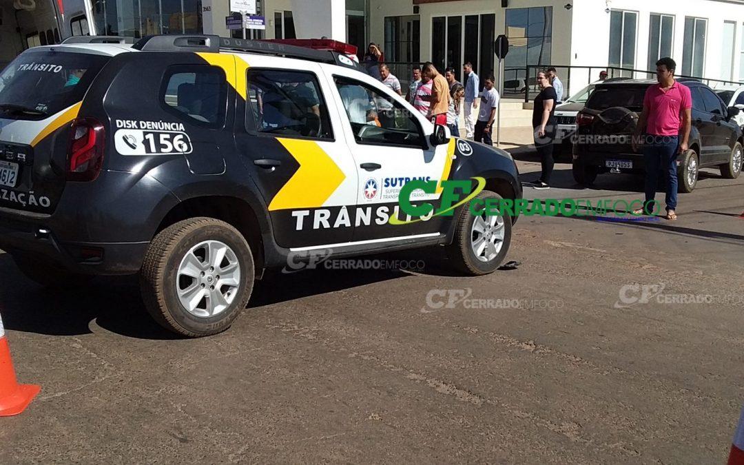 LEM: Acidente de trânsito deixa duas mulheres feridas