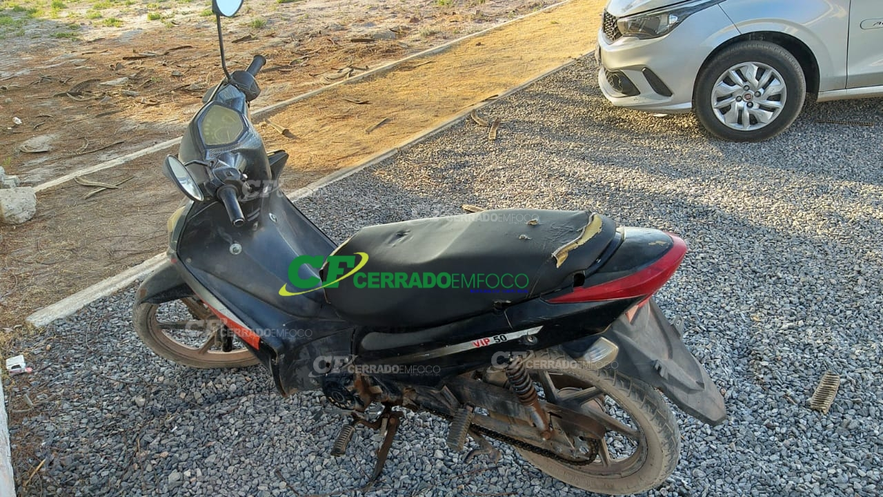LEM: Polícia Militar recupera motocicleta furtada/roubada