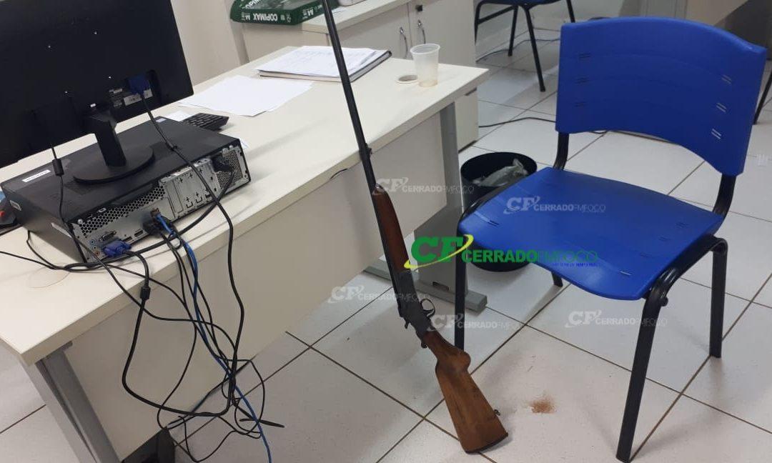 LEM: Polícia militar apreende arma de fogo