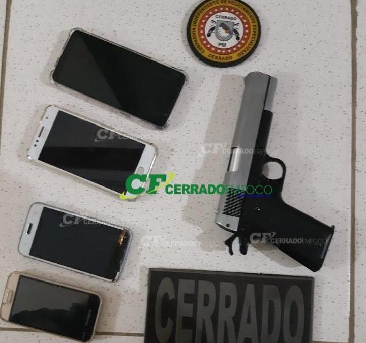 Bom Jesus da Lapa (BA): CIPE Cerrado prende dupla acusada de furtos