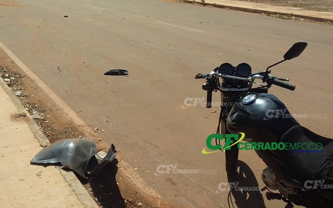 LEM: Acidente de trânsito causa fratura grave em motociclista