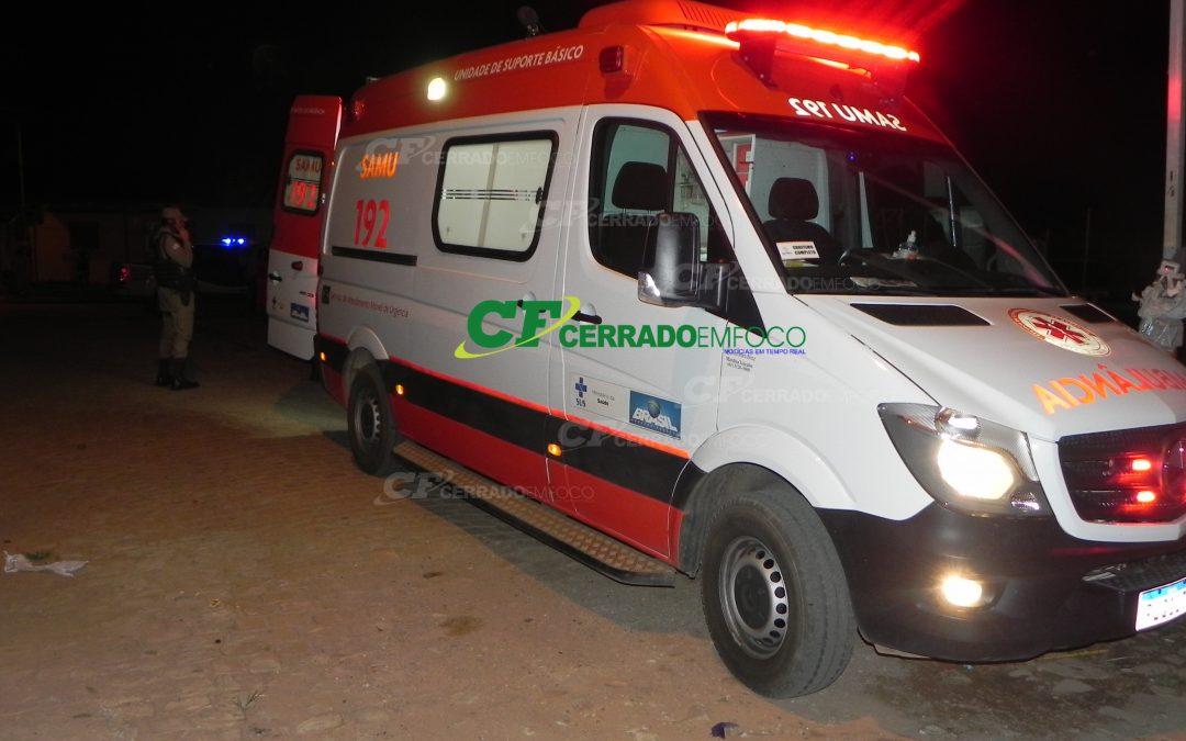 LEM: Homens ficam feridos após desentendimento no Bairro Santa Cruz