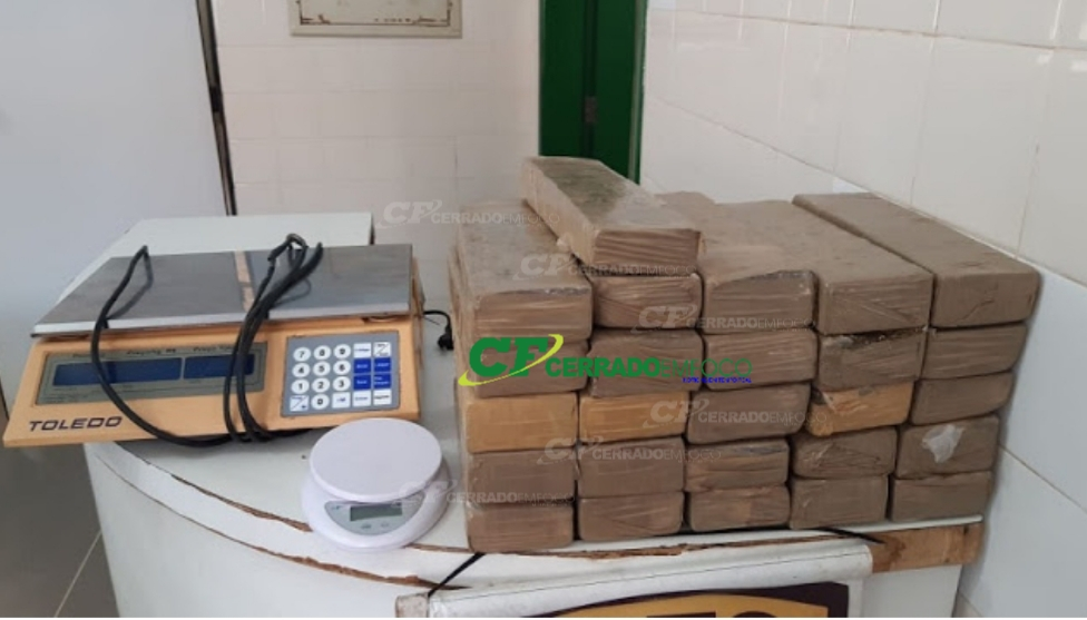 Barreiras: Policiais da 84ª CIPM prende acusado de tráfico de drogas em Barreiras.