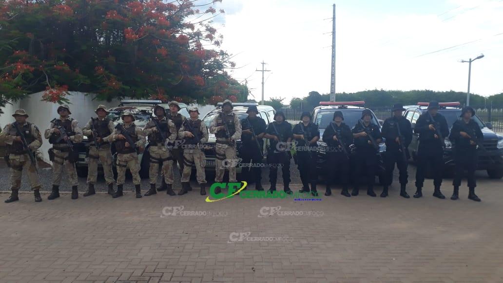 LEM: Sub tenente Moreira do COD Goiás fala com exclusividade sobre operação conjunta que recuperou quase um milhão de Reais em produtos.