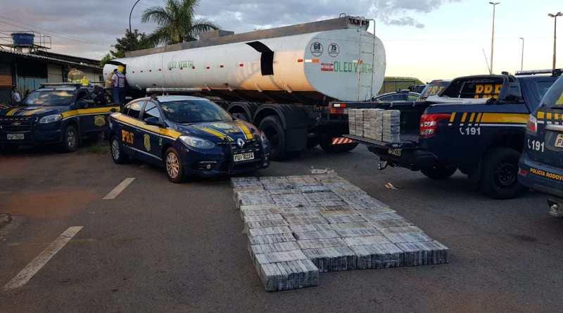 PRF apreende 1,1 tonelada de cocaína, em Cristalina/GO que tinha como destino Luís Eduardo Magalhães.