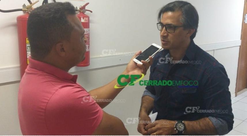 LEM: Repórter Oliveira Xavier entrevista o Secretário de Segurança, Ordem Pública e Trânsito Daniel Alvarez.